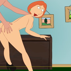 Lois takes dick in the ass